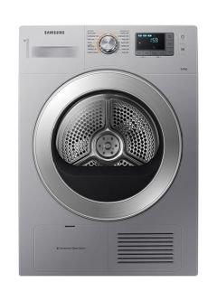 Samsung Front Load Condenser Dryer - 8Kg - Silver -DV80H4000CS/NQ