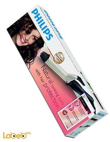 مجعد الشعر فيلبس 25 ملم 200 درجة مئوية أسود وفضي موديل HP8605/00