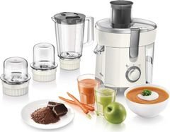 Philips Juicer, Blender, Grinder & Chopper - 350W - HR1847/05