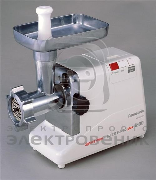 Panasonic Meat Mincer 1800 Watt model MK-G1800PWTH