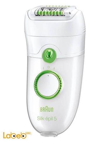 ماكينة إزالة الشعر من براون - لون أخضر - موديل SE 5580/5780