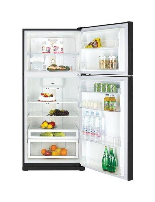 Daewoo Top Mount Refrigerator FR-T650NT 23 CFT Black