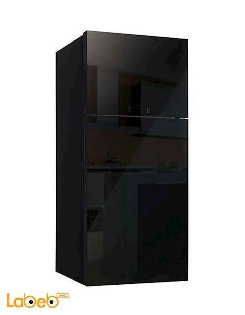 ثلاجة فريزر علوي دايو 23 قدم أسود FR-T650NT