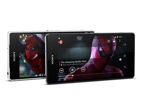 Black Sony Xperia Z2 screen