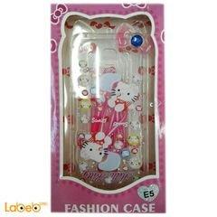 back cover mobile - for Samsung Galaxy E5 - Hello Kitty design