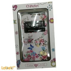 iPefet Mobile cover - for galaxy J1 - decorated with flowers