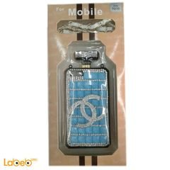 Blue and silver mobile Back cover for Samsung 5S