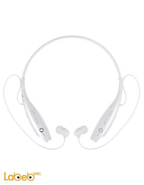 LG tone + headset bluetooth 3.0 white color HBS-730