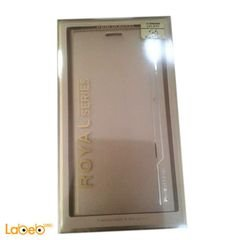 غطاء للموبايل رويال سيريس - لجلاكسي S6 ادج بلس - لون ذهبي
