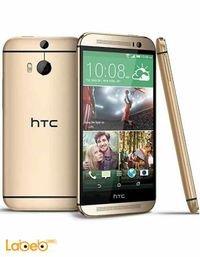 موبايل HTC وان أم 8 32 جيجابايت لون ذهبي