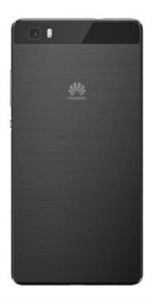 Black Huawei P8Lite smartphone back
