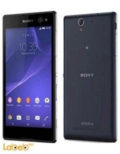 موبايل اكسبيريا C3 دوال - 8 جيجابايت - أسود - Sony C3 Dual D2502