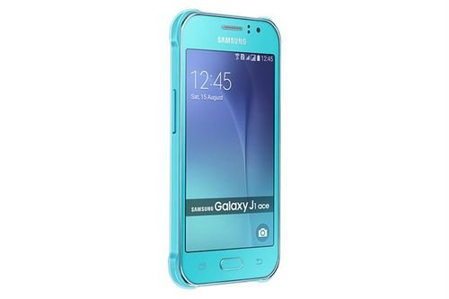 Samsung Galaxy J1 Ace smartphone 4.3 inch Blue color