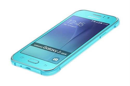 Samsung Galaxy J1 Ace smartphone 4GB 4.3 inch Blue color