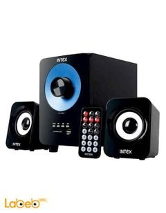 Intex Computer Multimedia Speaker - IT-303 BT - black and blue