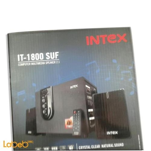 Black Intex 2.1 IT-1800