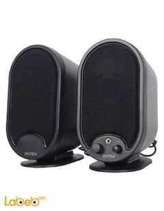 Intex computer multimedia speaker - black color - IT 366