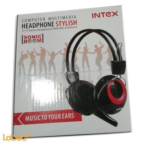 black Intex IT HP893SM