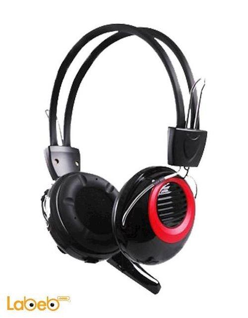 سماعات رأس انتيكس للكمبيوتر لون اسود IT HP893SM