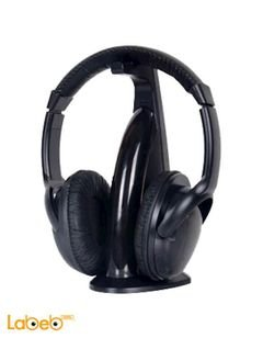 Intex wireless headphone - black - with microphone - IT HP906FM