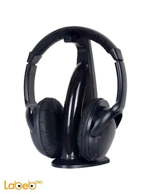 Intex wireless headphone black with microphone