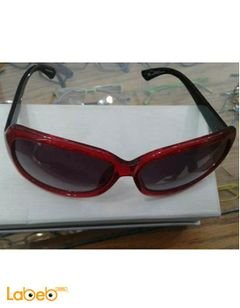 Emporio armani sunglasses - Black lenses - Red frame