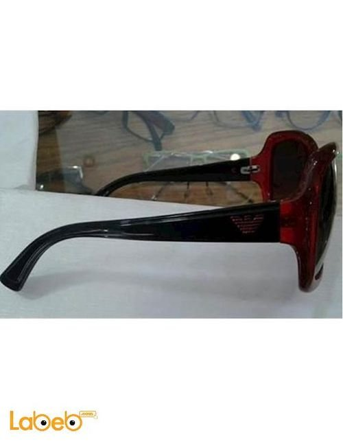 Emporio armani sunglasses Black lenses Red color frame