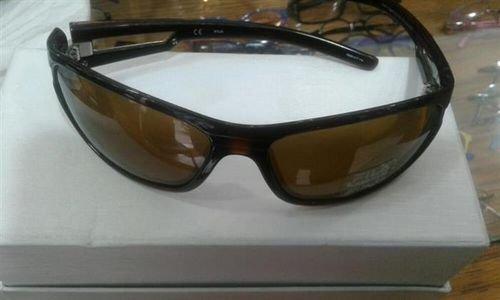 نظارات شمسية فيلا أصلية  اطار بني غامق عدسة صفراء موديل  SF8838K