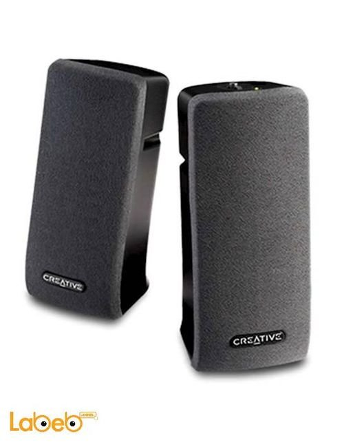 Creative computer speaker 2.0 black color SBS A35 Speakers