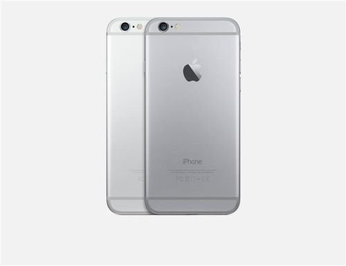 back Grey Apple iPhone 6 64GB
