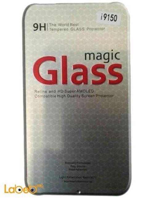 واقي شاشة زجاجي 9H لسامسونج جلاكسي S6 موديل I9150