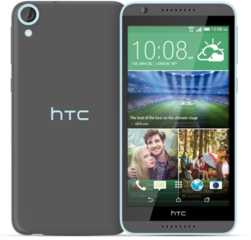 grey HTC Desire 820 smartphone 16GB