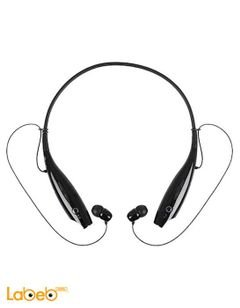 LG tone + Wireless headset - bluetooth 3.0 - Black - LG HBS-730