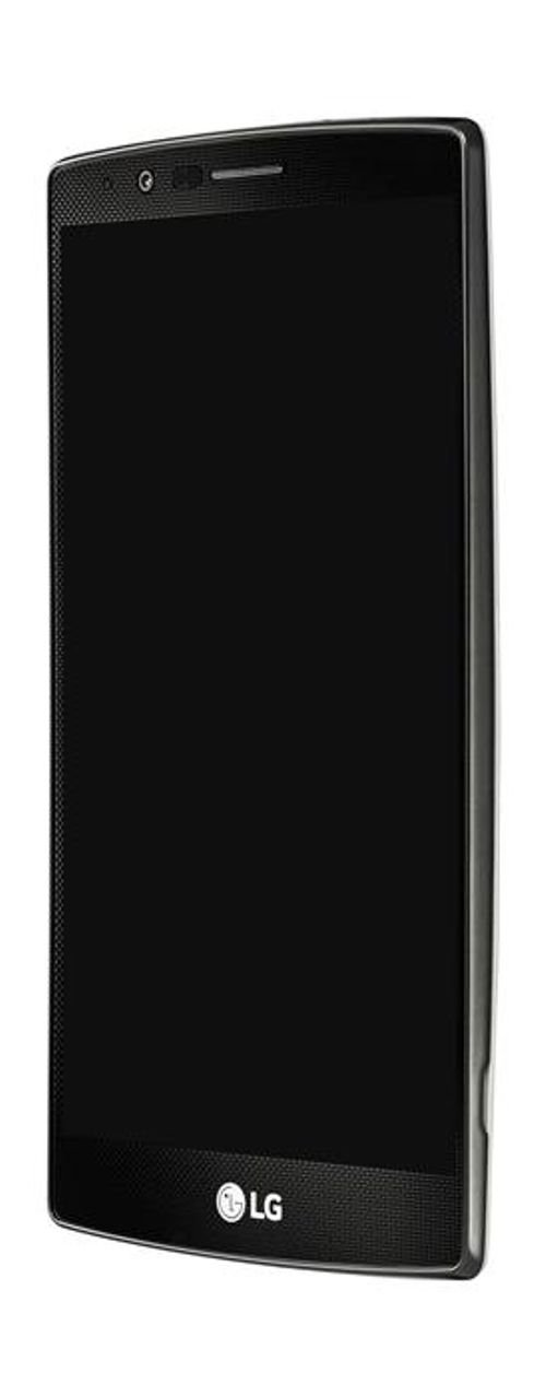 White LG G4 Smartphone screen