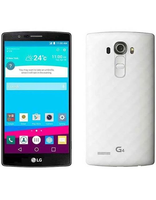LG G4 Smartphone white color