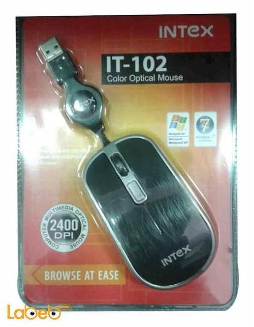 سلكية للكمبيوتر انتيكس اسود ورمادي IT-102