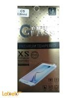 transparent 9H Iphone C5 tempered glass protector