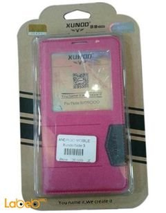 Xundo case for Samsung note 3 - S view - Pink Color