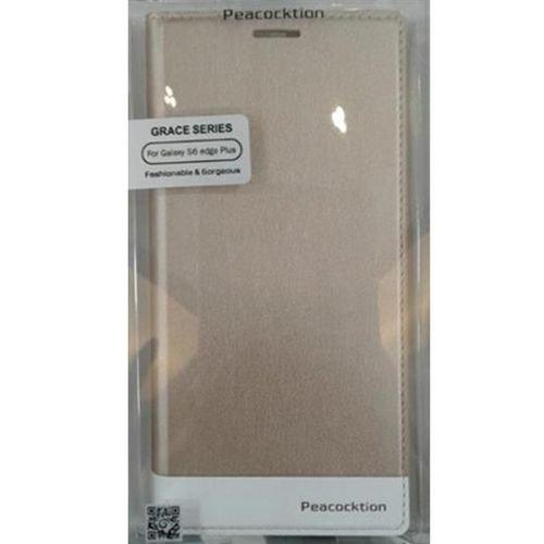 غطاء حماية Peacocktion Grace series لجلاكسي S6 ادج بلس لون بيج