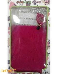 Iphone 6 cover and protector - pink and silver design