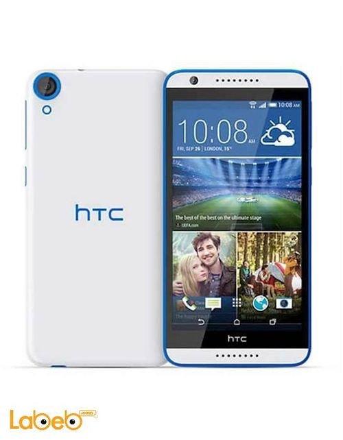 واجهة وخلفية موبايل HTC ديزاير 820G بلس لون أبيض وأزرق
