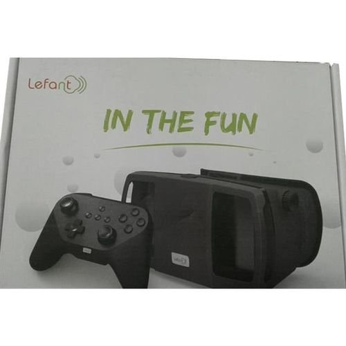 Lefant Virtual Reality VR 3D Glass with Joystick LMJ3S Black