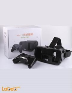 Lefant Virtual Reality VR 3D Glass with Joystick - LMJ3S - Black