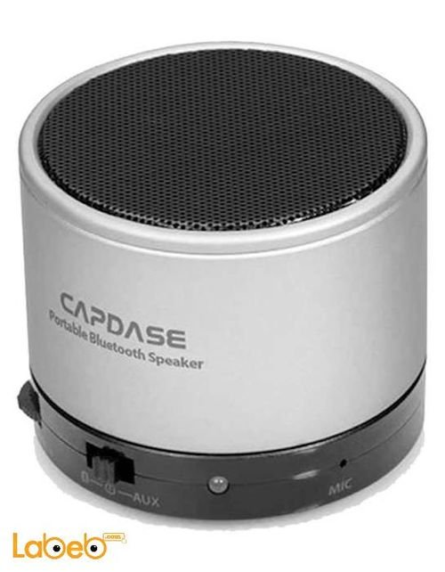 silver Capdase Portable Bluetooth Beat SOHO SK00-B20S
