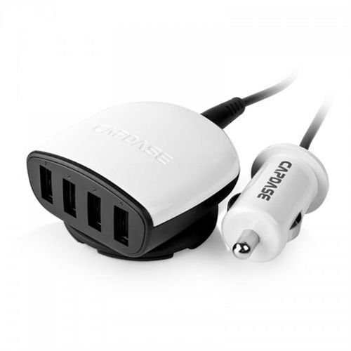 Capdase USB Car Charger Boosta Z4 white 4XUSB
