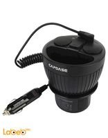 Capdase Car Cup Holder Charger black 3.4A CA00-C101