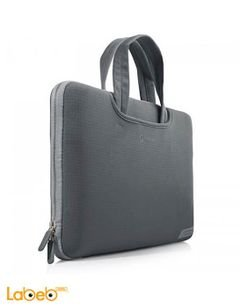Capdase carria macbook bag - 13 inch - grey - PK00M130 C003
