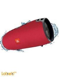 سماعات بلوتوث JBL اكستريم مقاوم للماء احمر