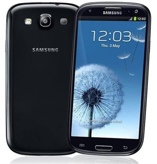 back side Black galaxy S3 neo 16GB