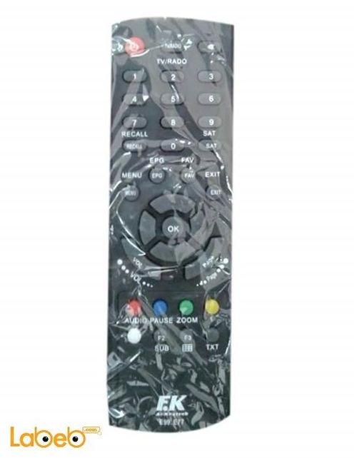 جهاز التحكم عن بعد للتلفاز تايجر - اسود - متعدد الخيارات - E99